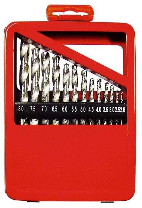 Набор сверл matrix 72388, 19 шт.