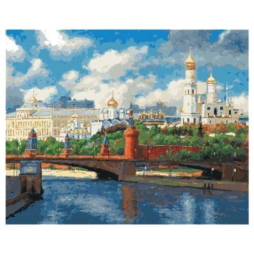 Белоснежка Картина по номерам Московский Кремль 40х50 см (074-AB)