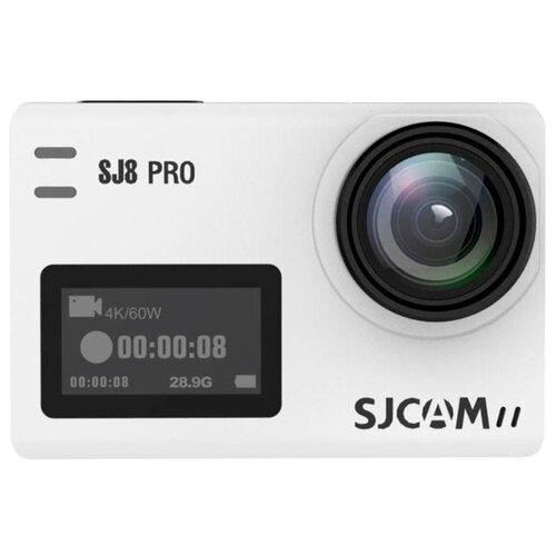 Фото - Экшн-камера SJCAM SJ8 Pro (Full box) белый видеокамера экшн sjcam sj5000 белый
