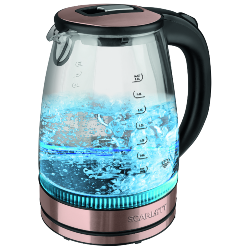 Чайник Scarlett SC-EK27G43, золотоЭлектрочайники и термопоты<br>