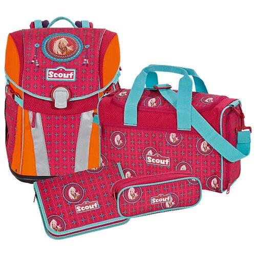 Купить Scout Ранец с наполнением SUNNY EXKLUSIV 4 предмета, mandala, Рюкзаки, ранцы