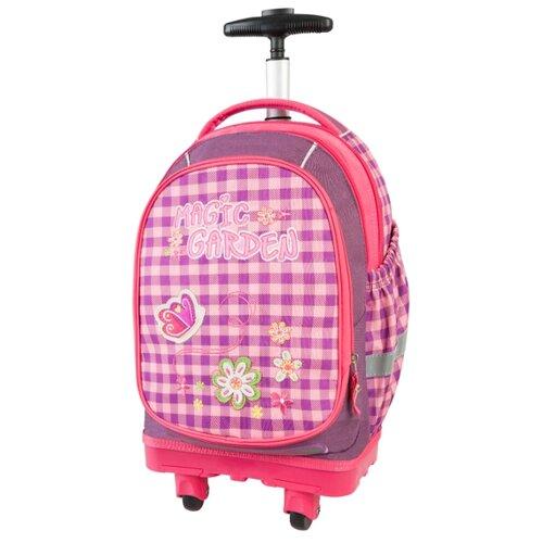 Target Рюкзак-тележка Волшебный сад (17931), розовый/фиолетовый target рюкзак тележка скейтер