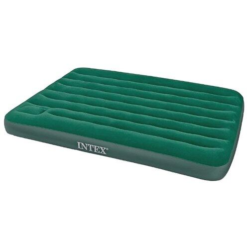 Надувной матрас Intex Downy Bed (66928) зеленый downy 200