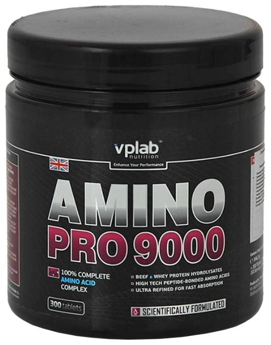 Аминокислотный комплекс VP Laboratory Amino Pro 9000 (300 таблеток)