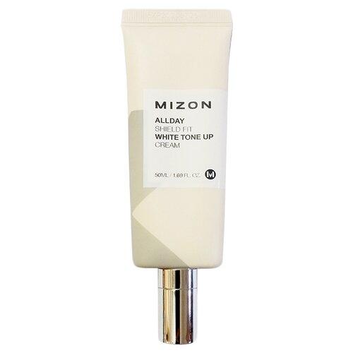 Mizon Allday shield fit white Tone up cream Отбеливающий увлажняющий крем для лица, 50 мл аклен отбеливающий крем ахро дерм 50 мл