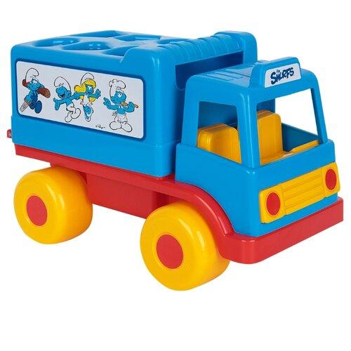 Фото - Сортер Полесье Смурфики Логический грузовичок №2 полесье набор игрушек для песочницы 468 цвет в ассортименте