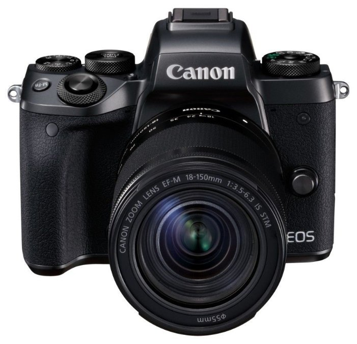 Фотоаппарат Canon EOS M5 Kit темно-серый 18-150mm IS STM f/ 3.5-6.3 LP-E17