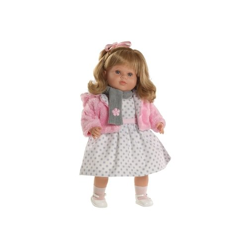 Пупс Munecas Berbesa Carla, 52 см, 7215, Куклы и пупсы  - купить со скидкой