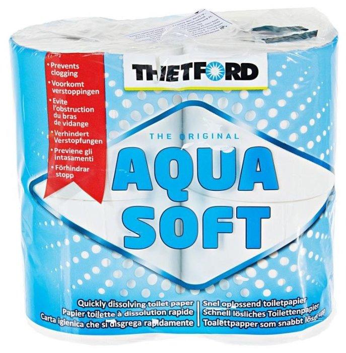 Thetford Туалетная бумага Aqua Soft 4 рулона