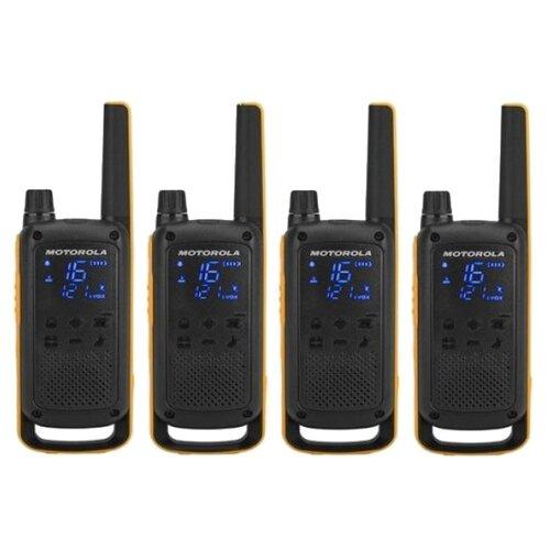Рация Motorola Talkabout T82 Extreme Quad желтый/черный
