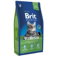 Корм для кошек Brit Premium Sterilised dry