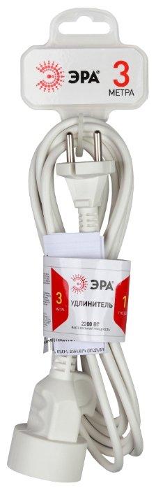 Удлинитель ЭРА U-1 (Б0026327), 3 м