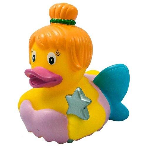 Купить Игрушка для ванной FUNNY DUCKS Фея уточка (1885) желтый/розовый/голубой, Игрушки для ванной