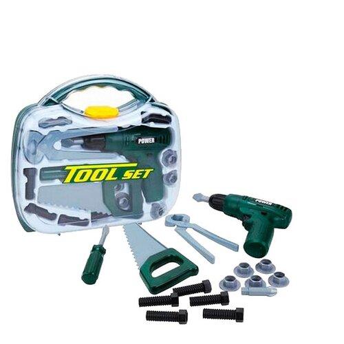Shantou Gepai Набор инструментов, 15 предметов TG206J(G) набор инструментов shantou gepai наша игрушка 6607