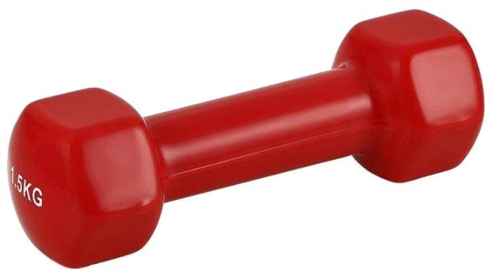 Гантель цельнолитая BRADEX SF 0271 1.5 кг