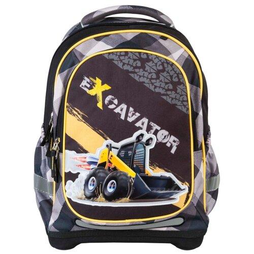 Купить Target Рюкзак супер лёгкий Экскаватор (17933), черный/серый/желтый, Рюкзаки, ранцы
