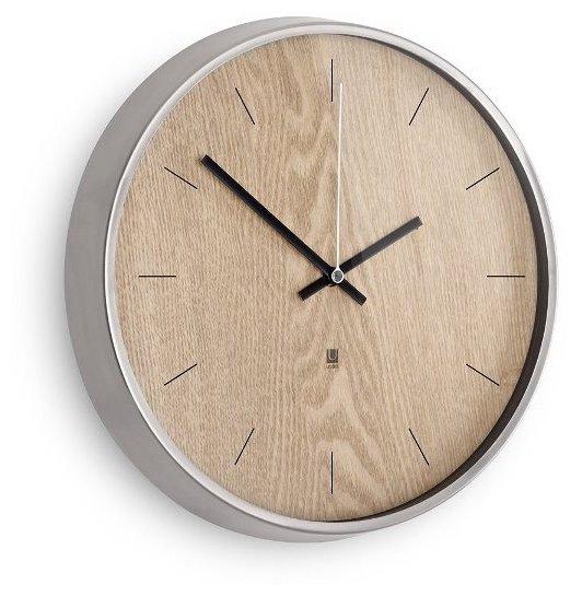 Часы настенные кварцевые Umbra Madera 118413-392