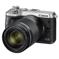 Canon EOS M6 Kit серебристый