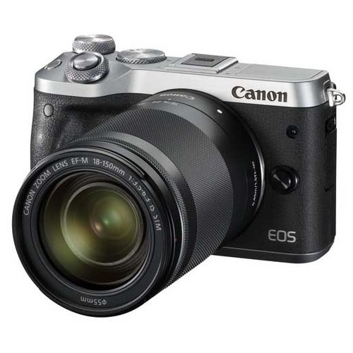 Фото - Фотоаппарат Canon EOS M6 Kit серебристый фотоаппарат