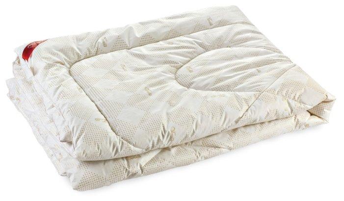 Одеяло Verossa Verossa Заменитель лебяжьего пуха бежевый/белый 140 х 205 см