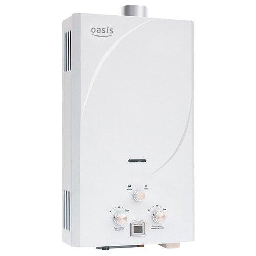 Проточный газовый водонагреватель Oasis 24 TUR, белый проточный электрический водонагреватель oasis np w белый