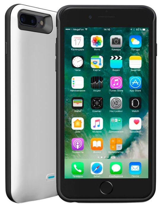 Чехол-аккумулятор Deppa NRG Case (33522) для Apple iPhone 7 Plus/iPhone 8 Plus