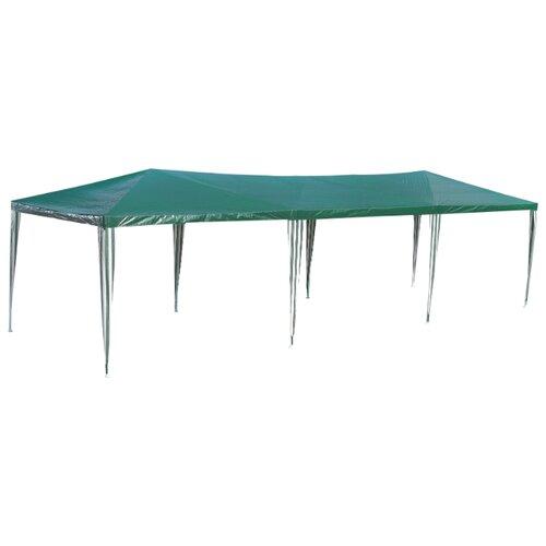 Шатер Green Glade 1063, 9 х 3 х 2.5 м зеленый / белый