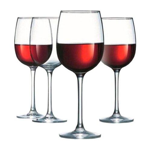 Luminarc Набор бокалов для вина Allegresse 550 мл 4 шт L1403 стакан luminarc набор drip rouge red 4 шт v 350 мл высокие 754717
