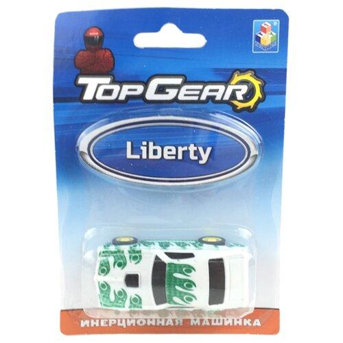 Легковой автомобиль 1 TOY Top Gear Liberty (Т10324) 8 см белый