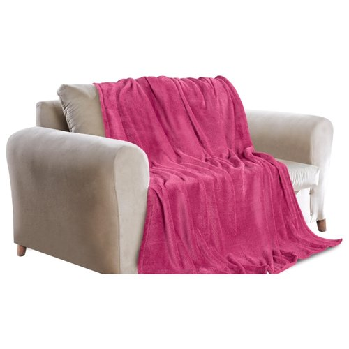 Фото - Покрывало Guten Morgen фланель Малина, 150 х 200 см, розовый плед guten morgen гортензия 150
