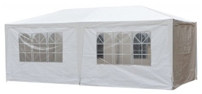 Шатер Афина-Мебель AFM-1015, со стенками, 6 х 3 х 2.5 м