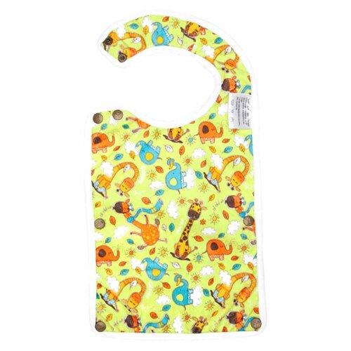 Купить GlorYes! Лео / Цветы / Жирафы / Котята / Весенний / Сафари / Медвежонок, 1 шт, расцветка: жирафы/белый кант, Нагрудники и слюнявчики