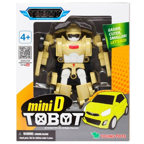 Трансформер YOUNG TOYS Tobot Mini D 301027