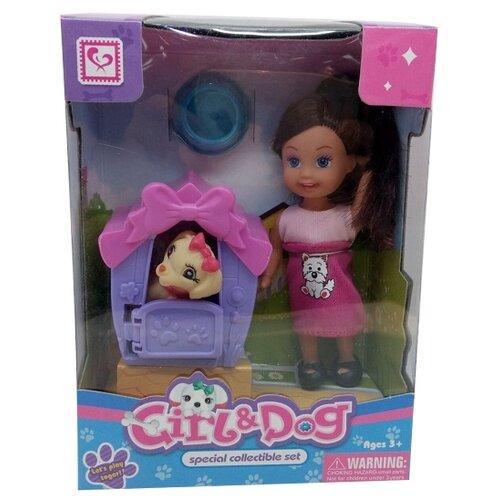 Кукла Tongde с собачкой в будке цена 2017