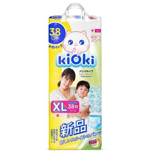 цена на KiOki трусики XL (12+ кг) 38 шт.