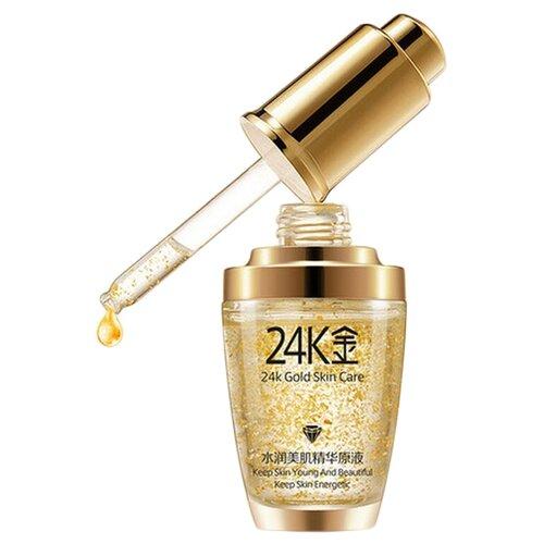 BioAqua 24K Gold Skin Care Сыворотка для лица с частицами золота и гиалуроновой кислотой, 30 мл