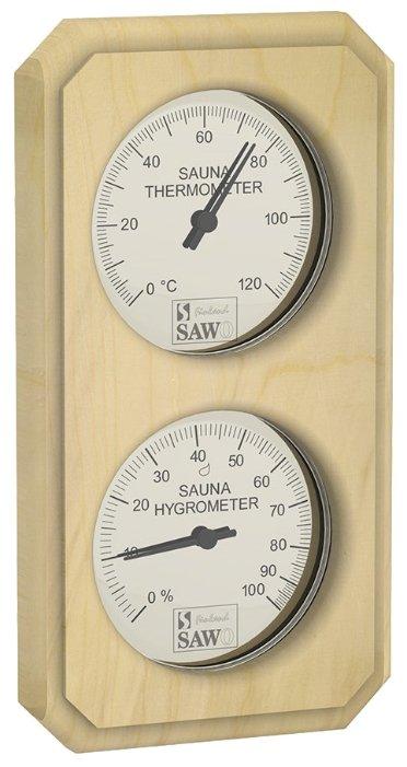 Термогигрометр SAWO 221-THVP (Сосна (P), 125x200 мм)