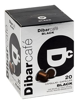 Кофе в капсулах Dibarcafe Black (20 шт.)