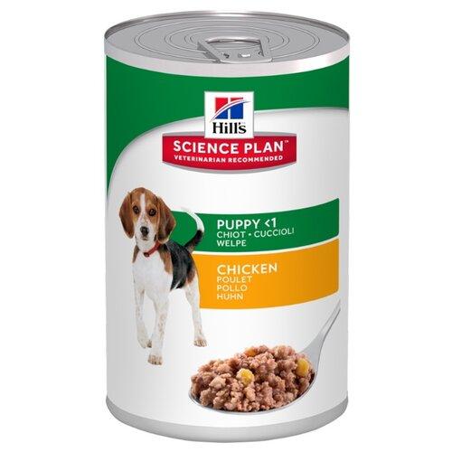 Корм для собак Hills (0.37 кг) 1 шт. Science Plan Puppy Savoury Chicken CannedКорма для собак<br>