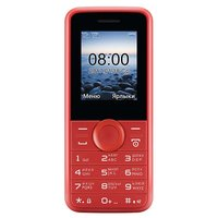 Телефон Philips E106 красный