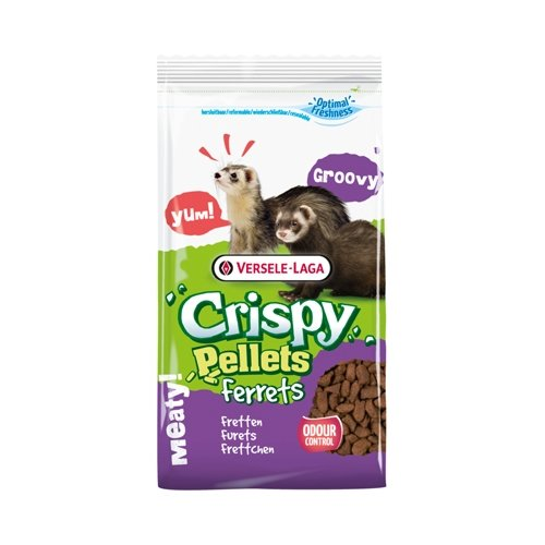 Корм для хорьков Versele-Laga Crispy Pellets Ferrets 700 г корм для крыс и мышей versele laga crispy pellets rats