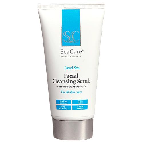 SeaCare скраб для лица Dead Sea Facial Cleansing Scrub 150 мл