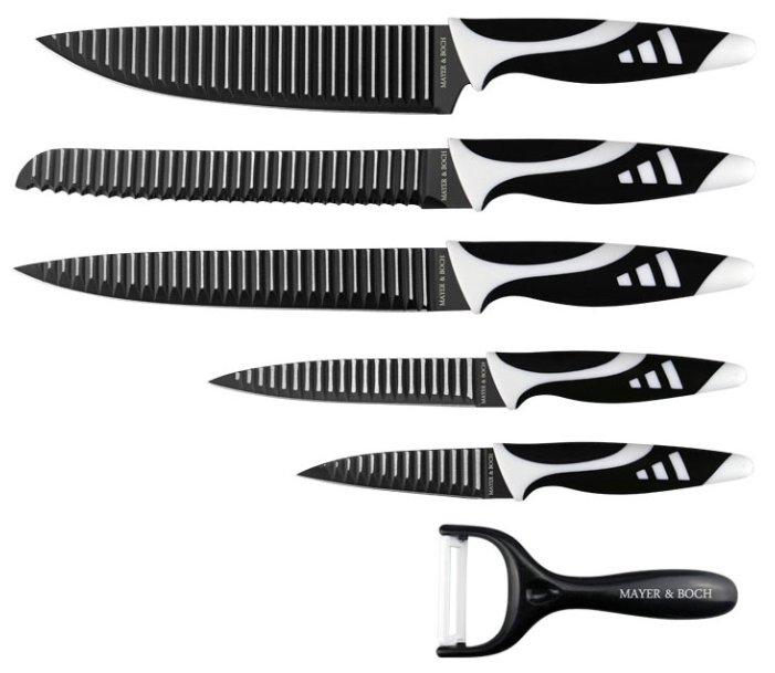 Набор MAYER & BOCH 5 ножей и овощечистка 26993