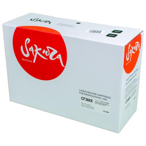 Фото - Картридж Sakura CF360X, совместимый картридж sakura tk1170 совместимый