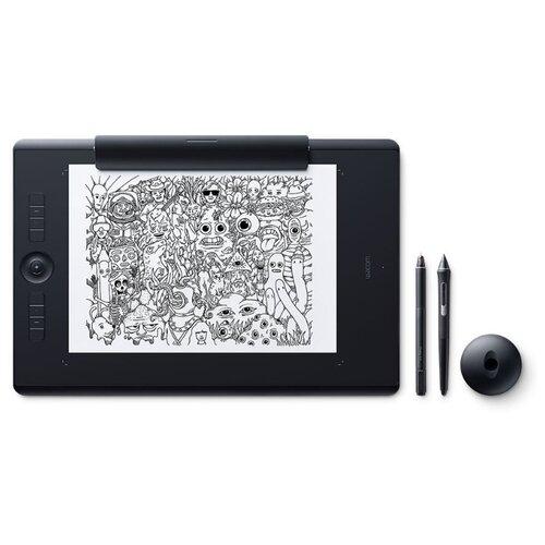 Графический планшет WACOM Intuos Pro Large Paper Edition (PTH-860P-R)  - купить со скидкой