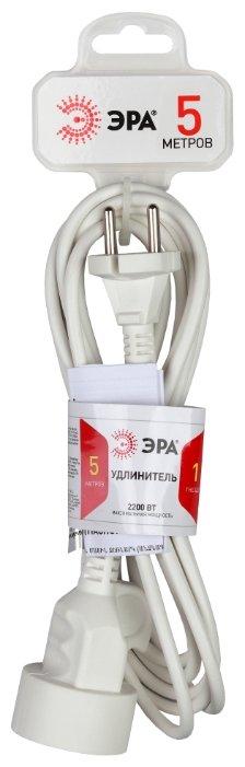 Удлинитель ЭРА U-1 (Б0026328), 5 м