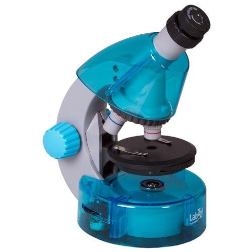 Купить Микроскоп LEVENHUK LabZZ M101 azure, Детские микроскопы и телескопы