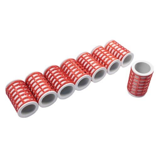 Классические бигуди Meizer Бигуди-термо супербольшие (35 мм) 8 шт. красный цена 2017