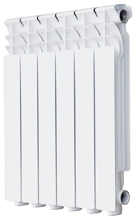 Радиатор секционный алюминий Halsen Al 500/80