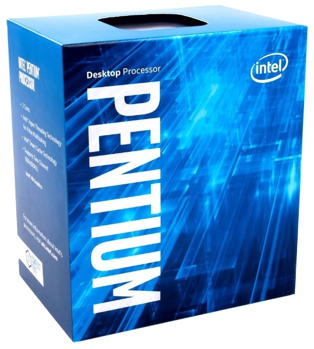 Процессор Intel Pentium G4560 Kaby Lake (3500MHz, LGA1151, L3 3072Kb)